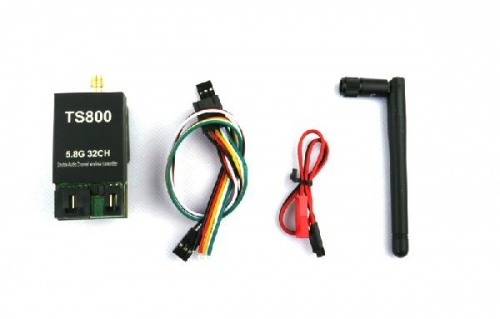 FPV 5.8G 32CH LED Channel Display 1500mW AAT Compatible A/V Transmitter | RP-SMA, jack
