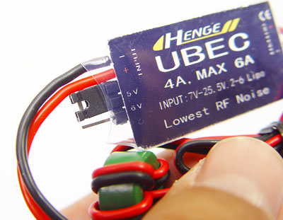 HENGE 4A 2-6S Input Switch Mode UBEC
