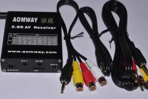 AOMWAY 5.8G 32-chan high sensitivity receiver with DVR built-in