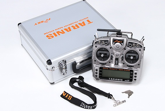 FrSky 2.4GHz ACCST TARANIS X9D Digital Telemetry Radio System (Mode 2)