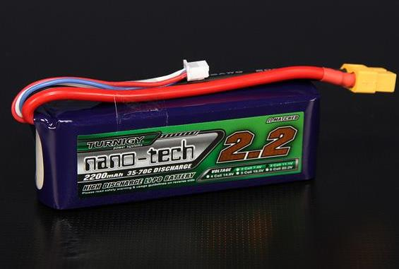 Turnigy nano-tech 2200mah 3S 35~70C Lipo Pack