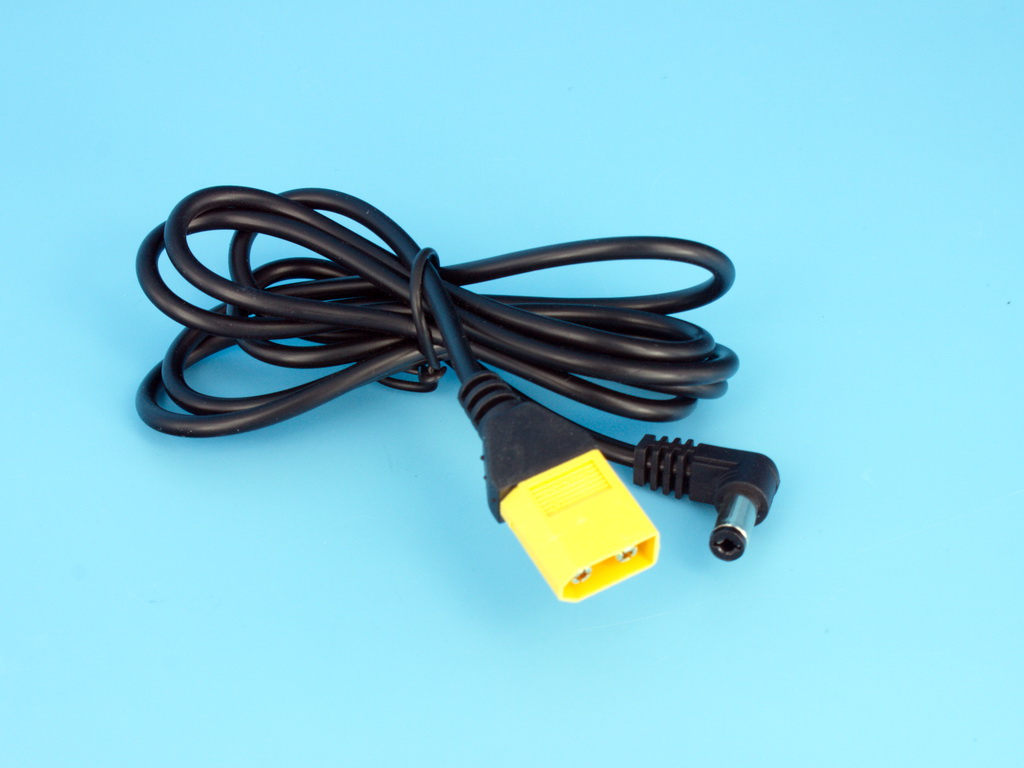 FPV Goggles Power Cable XT60 to DC5.5 1m