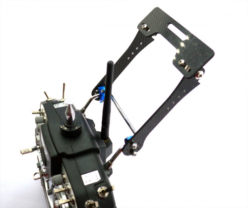 7-8 inch FPV Monitor Mount to Futaba/JR/WFLY Transmitters